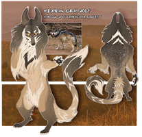 Mexican gray morgul wolf by ClimbToTheStars