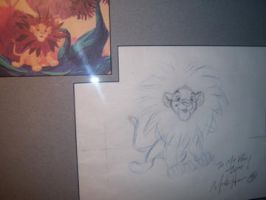 On the walls_Mark Henn_Simba by tombancroft