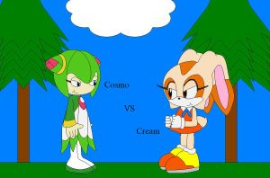 Cosmo vs Cream who will get eating by shadevore
