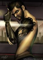 Adam Jensen by MeLiNaHTheMixed