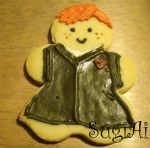 Ron Weasley Cookie by SugiAi