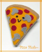 Another Pizza Plush by MONSTERCreations
