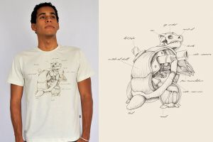 Watermon Anatomy T Shirt by ChamaCamisetas