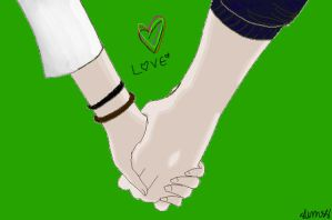 Holding Hands- Love by slim58