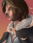Final Fantasy 8 - Squall Leonhart Fanart by Zer0Mechan1sm