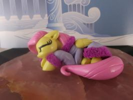 Sleeping Fluttershy by DeadHeartMare