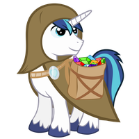 #50 Crystal Search Shining Armor by Ashidaru