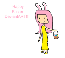 Happy Easter from Fluttershy by Toongirl18
