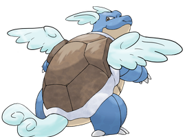 what blastoise always should have been by MaximumSpazzitude