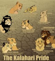 The Kalahari Pride by AnnaGiladi