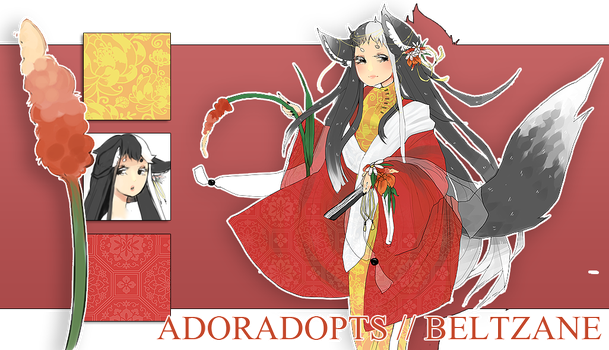 [37] foxtails and lilies : open auction by Adoradopts