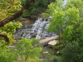 Early Fall at Albion Falls  2 by Melanie76