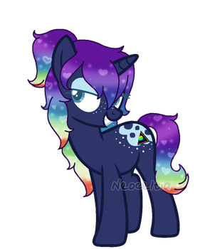 OC - Prismatic Shadow by NeoceItia