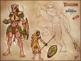 Warrior Tarzan by HecM