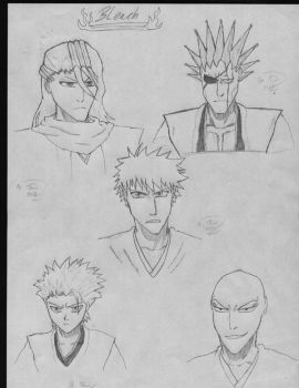 Bleach sketches by TimoSupremo