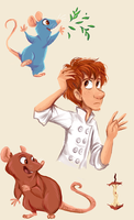 Ratatatouille Stuff by sharkie19