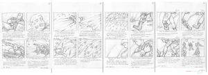 Battle SectorA Storyboards III by mavartworx