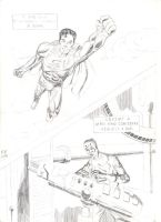 Superman and Lex Luthor Pencils August 2014 by Bobalob93