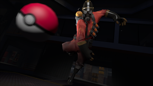Pyro wants to battle! by zp92