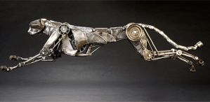 Articulated Metal Cheetah-runcycle-small by Andrew-Chase