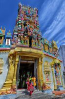 Indian Temple by SAMLIM