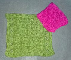 Bittami's The Grand Finale dishcloth by KnitLizzy