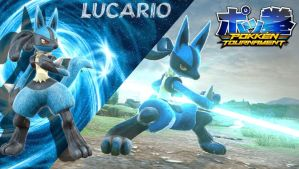 POKKEN TOURNAMENT - Lucario by Triforce-Knight95