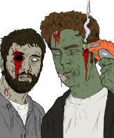 zombie boys by JackHook