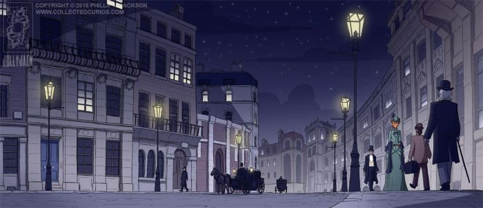 Late Night Piccadilly by jollyjack