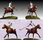 3d horse and rider by Maddepos