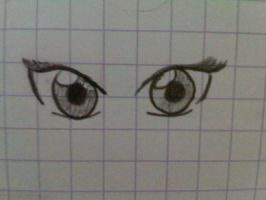 Anime Eyes by ArtfulHattress