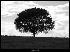 Black and white tree by bagnaj97