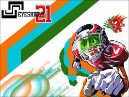 Eyeshield 21 Wallpaper by EternalheX