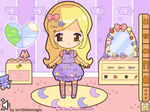 Cute Doll Dress up Screenie by steffne