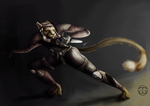 DTA: Khajiit Assassin by Dragriyu