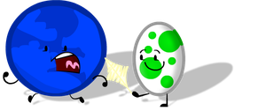 Yoshi Egg playing with Blue Planet by ctnumber