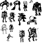 Mech Thumbnails by SmashingAeon