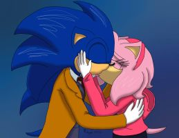 Sonamy: The Doctor and Rose Tyler (AT) by MidnightFire1222