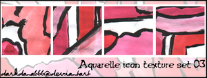 Aquarelle icon textures 03 by darkdana666