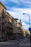 Streets of Barcelona by uggaexul