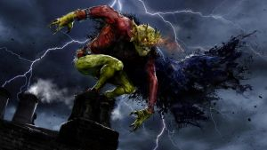 The Demon Etrigan by uncannyknack