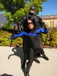 Batman and Nightwing by BlitzkriegCosplay