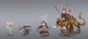 Concept Army of cats by stasiyaalexandrova