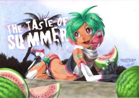 :CE:  The taste of Summer by Pichu-Chan