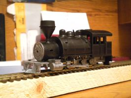 HOn3 Bulldog Locomotive by gunslinger87