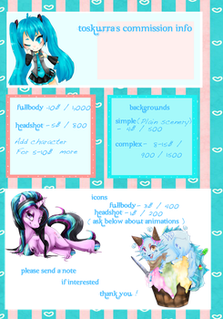 commission info | O P E N | by toskurra