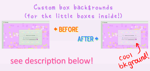 How To: Little box background in Custom Boxes by zara-leventhal
