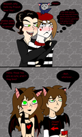 Aaron and Cal's Halloween Party by PurfectPrincessGirl