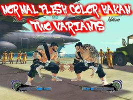 SSF4:AE MOD HAKAN NORMAL FLESH COLOR by arleklown