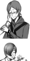 Megaten sketches by in-gravity
